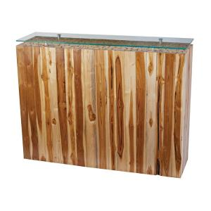 "Teak - 43"" Bundled Root Console"