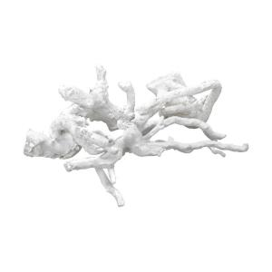 "Ekwok - 14"" Wooden Tussle Sculpture (Set of 4)"