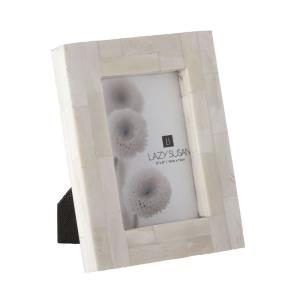 "Bone Block - 8"" Picture Frame"