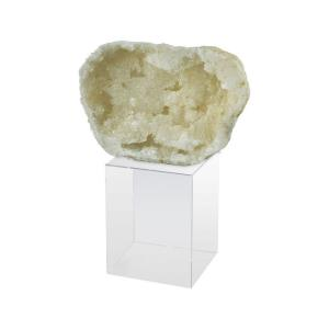 """Grand Duchess - 8.4"""" Small Agate and Crystal Stand"""
