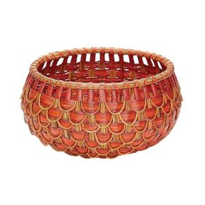 "9"" Small Fish Scale Basket"