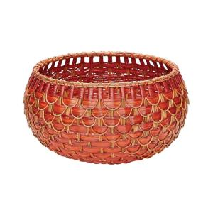 "12"" Medium Fish Scale Basket"