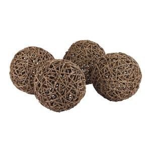 9 Inch Natural Orb (Set of 4)