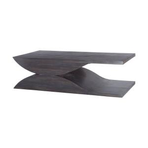 "Pin - 60"" Solid Wave Coffee Table"