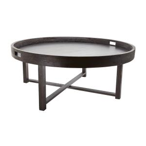 "18"" Round Teak Coffee Table Tray"