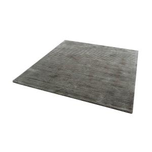 "Logan - 16"" Square Handwoven Viscose Rug"