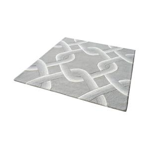 Desna - 16 Inch Square Hand Tufted Wool Rug