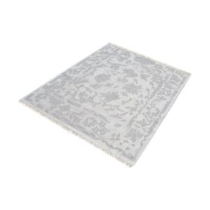 Harappa - 16 Inch Square Handknotted Wool Rug