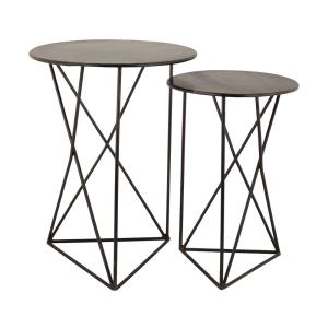 """Geometric - 24"""" Accent Table (Set of 2)"""