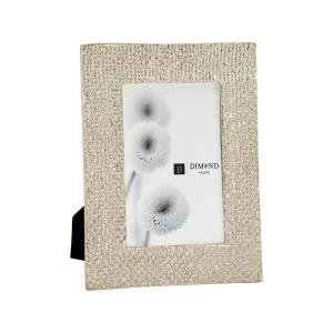 Fizz - 8.6 Inch 4x6 Ripple Texture Photo Frame