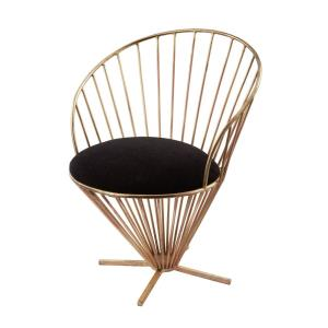 32 Inch Iron Taper Wire Chair