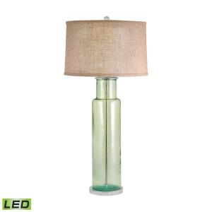 Recycled Glass - 30 Inch 9.5W 1 LED Table Lamp