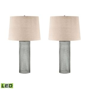"28"" 19W 2 LED Table Lamp (Set of 2)"