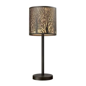 Woodland Sunrise - One Light Table Lamp