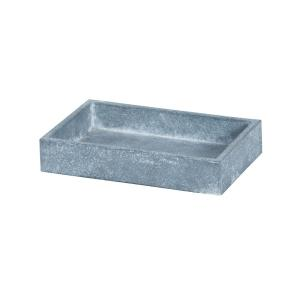 "Faux Concrete - 6"" Soap Dish"