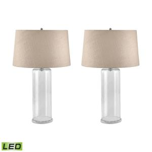"You-Fill-It - 30"" 19W 2 LED Table Lamp (Set of 2)"