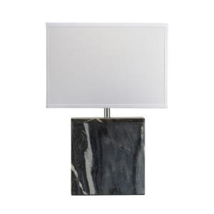 One Light Square Table Lamp