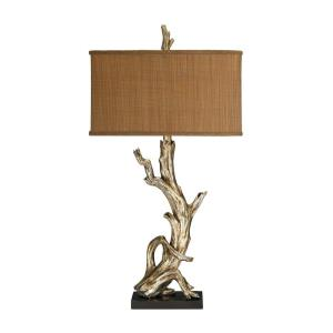 One Light Driftwood Table Lamp
