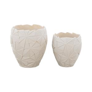 """Origami - 21"""" Outdoor Planter (Set of 2)"""