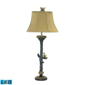 LED Bird on Branch Table Lamp