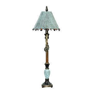 Rustic Tiffany - One Light Table Lamp