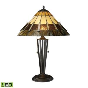 "Porterdale - 23"" 18W 2 LED Table Lamp"