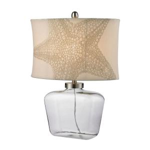 "17"" One Light Table Lamp"