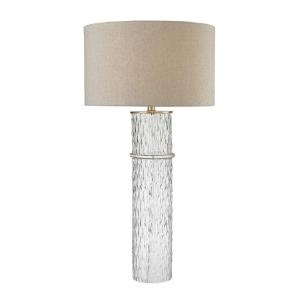 One Light Two Tier Table Lamp