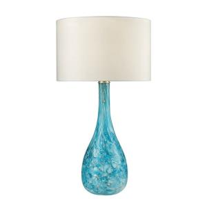 Mediterranean - One Light Table Lamp