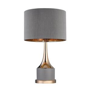 One Light Small Cone Neck Table Lamp