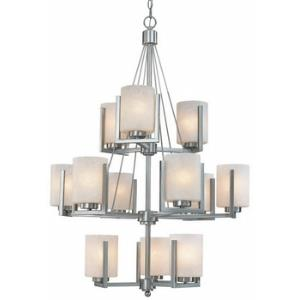 Uptown - Twelve Light Three Tier Chandelier