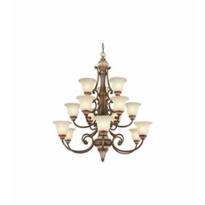 Bonita - Fifteen Light Three Tier Chandelier