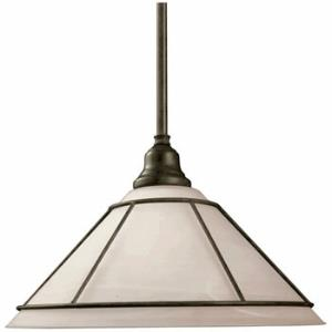 Craftsman - One Light Pendant