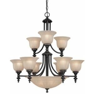 Richland - Fourteen Light Two Tier Chandelier