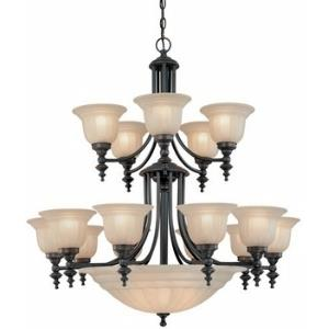 Richland - Twenty Light Two Tier Chandelier