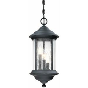 Walnut Grove - Three Light Outdoor Hanging Pendant