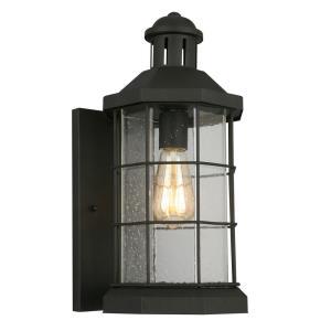 San Mateo Creek - One Light Outdoor Wall Lantern