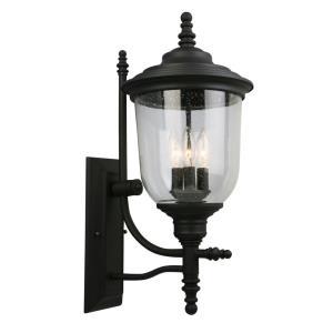 "Pinedale - 22.36"" Three Light Outdoor Wall Lantern"