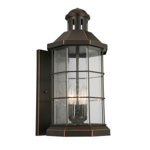 San Mateo Creek - Three Light Outdoor Wall Lantern