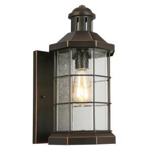 "San Mateo Creek - 17"" One Light Outdoor Wall Lantern"