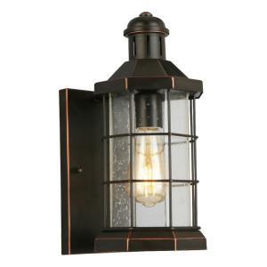 "San Mateo Creek - 13.25"" One Light Outdoor Wall Lantern"