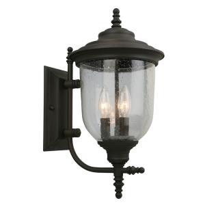 "Pinedale - 17.5"" Three Light Outdoor Wall Lantern"