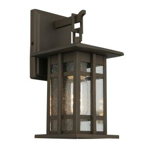 "Arlington Creek - 10"" One Light Outdoor Wall Lantern"