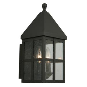 "Creston Creek - 12.36"" One Light Outdoor Wall Lantern"