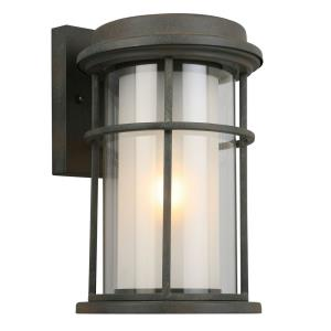 "Helendale - 12.64"" One Light Outdoor Wall Lantern"