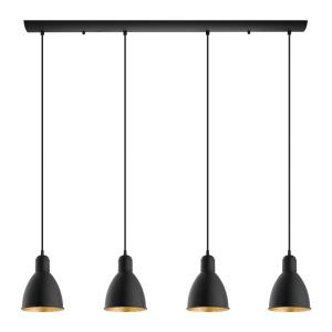 Priddy 2 - Four Light Linear Pendant