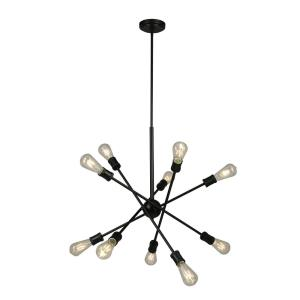Etris Row - Ten Light Pendant
