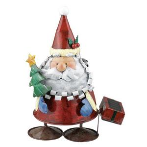 Solar - LED Outdoor Santa Claus