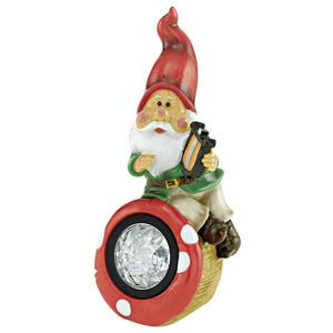 Solar - LED Outdoor Gnome ELF Lamp - 3 Pack