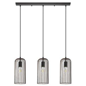 Roccamena - Three Light Linear Pendant